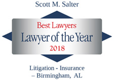 Scott Salters Lawyer of the Year Accolade 2018