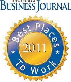 Starnes Davis Florie Named One of Birmingham's Best Places to Work for 2011