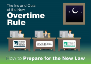 "SDF Labor & Employment Practice Attorney Trip Umbach Speaks on ""The Ins & Outs of the New Overtime Rule"""