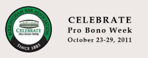 Celebrate Pro Bono Week- Oct 23 – 29, 2011