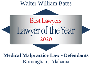 2020 Billy Bates Best Lawyers Lawyer of the year